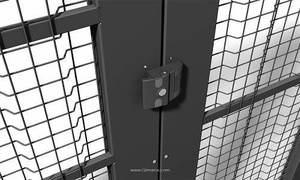Securyfence simplifies exchanging mesh panels and doors