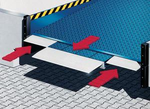 combidock designed to increase loading bay versatility