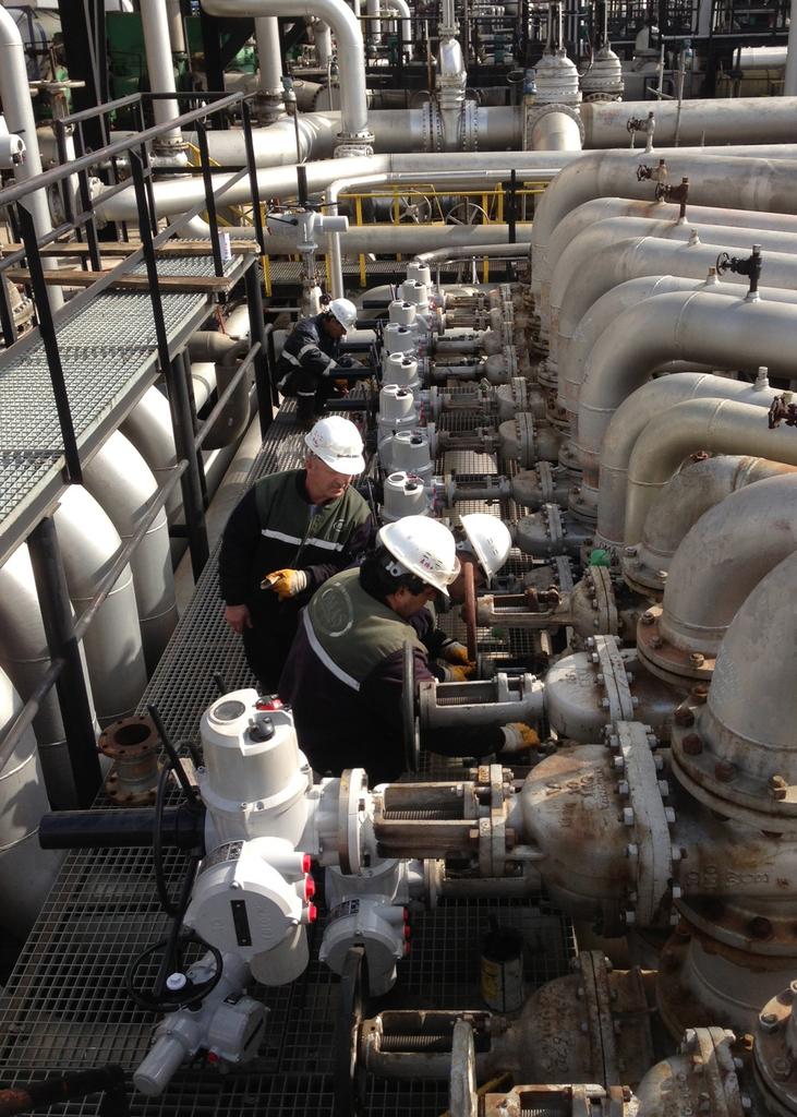 CDA - Watertight valve actuators
