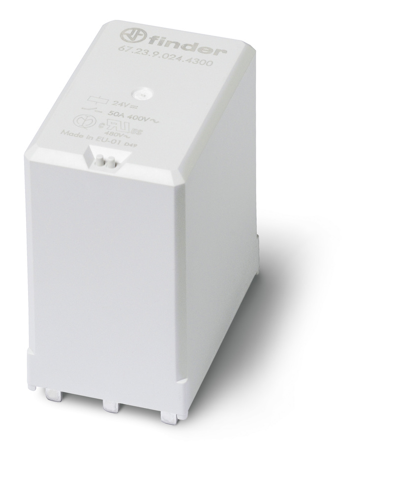 Cda High Capacity Pcb Relay Power Rating The Has A Continuous Current Contact Of 50a And Peak 150a 5msec Providing Two Three Pole No Double Break Contacts