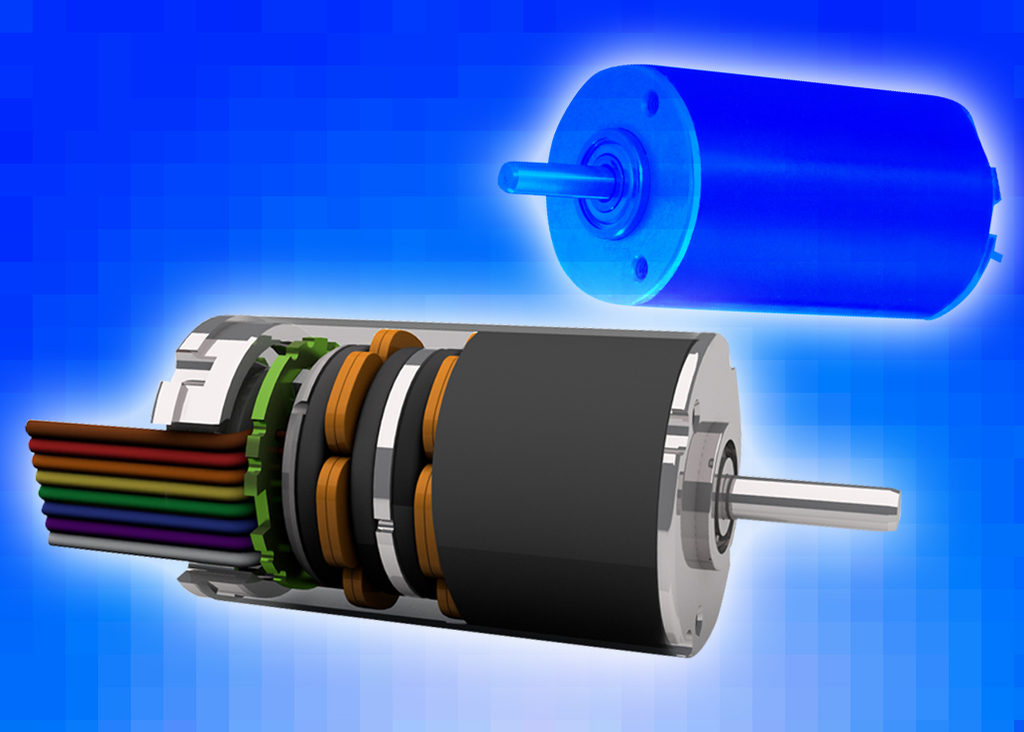 Cda ultra compact brushless dc motor for Brushless dc electric motor