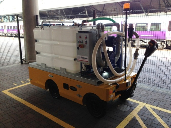 Manchester airport rail toilets