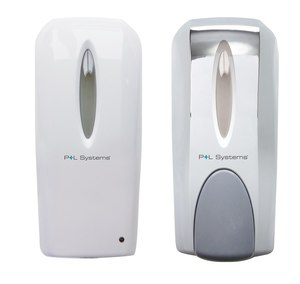 auto and manual soap dispenser