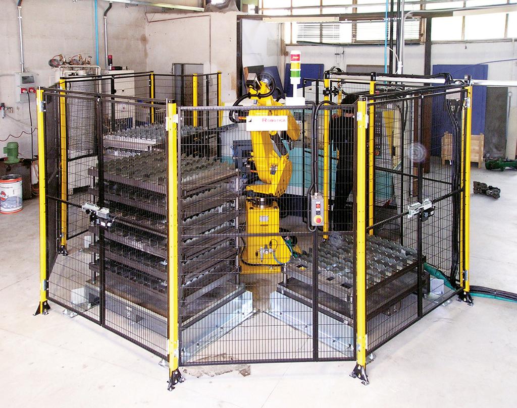 modular machine guarding