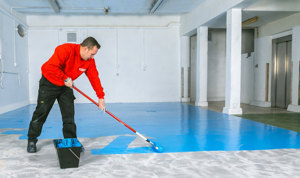 Hsm anti slip floor paint for New tile technology