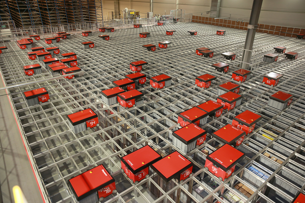 Hss Asda Invests In Space Efficient Automated Storage