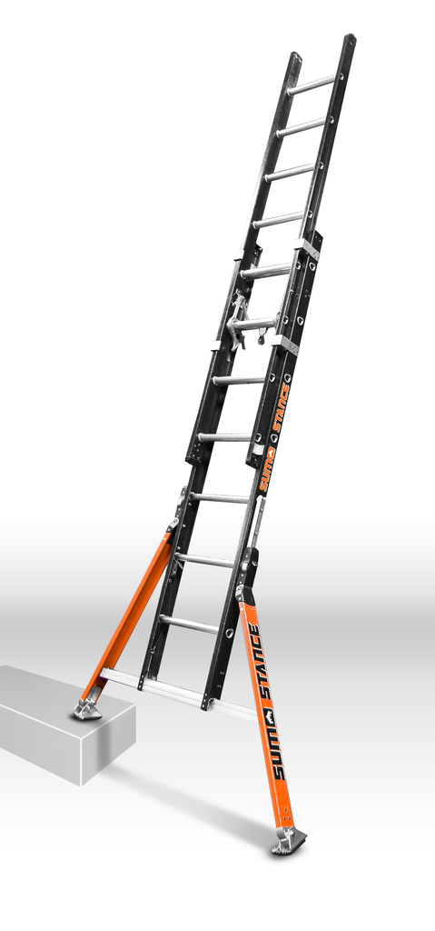 Extension Ladder Safety : Hss safe ladder innovations