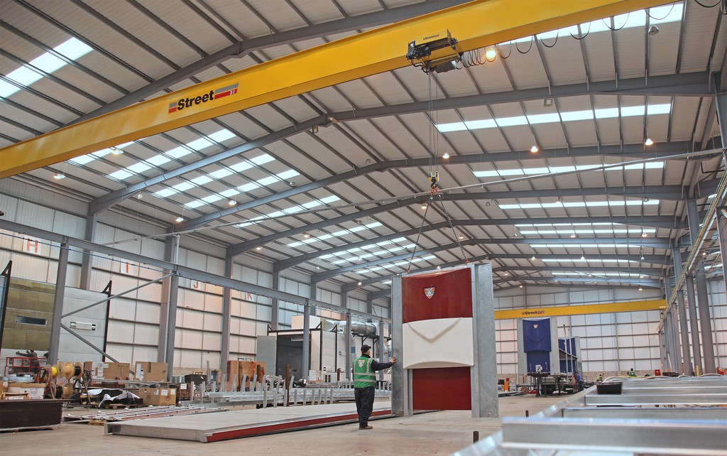 Hss Single Girder Box Beam Cranes