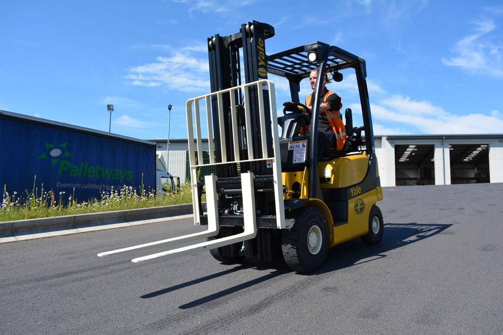 HSM - Upgraded forklift fleet