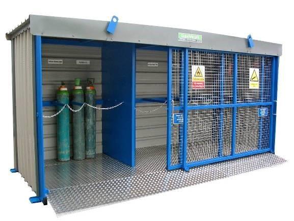 Hsm Gas Cylinder Storage