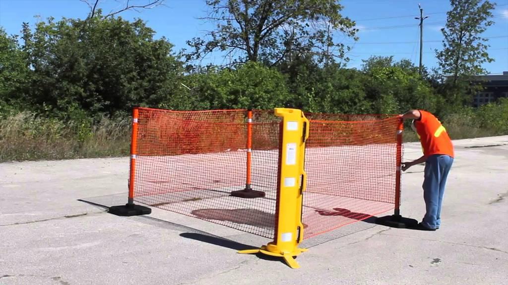Hsm Fast Deployable Net Barrier