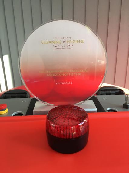 CM - Robot wins European cleaning award