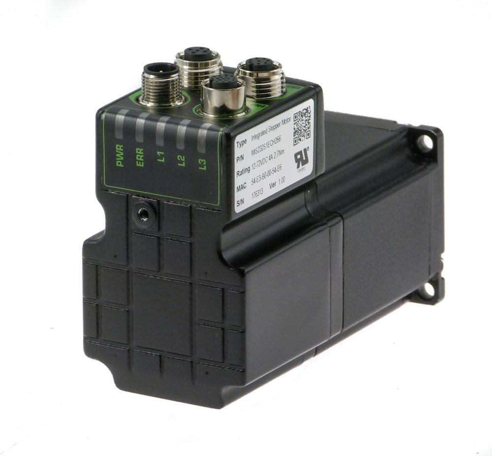 Cda integrated stepper motors for Integrated servo motor and drive