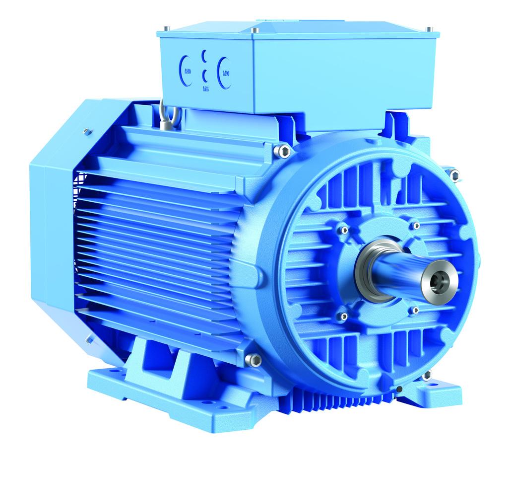 Cda safety motors range extended for Abb motor frame size