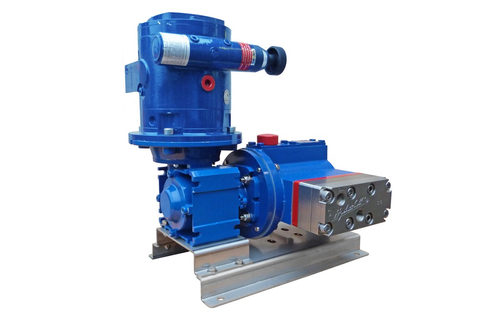 Ipe hydra cell metering pumps the company says having multiple diaphragms in a single pump head guarantees the volumetric accuracy of a conventional metering pump but with very low ccuart Images