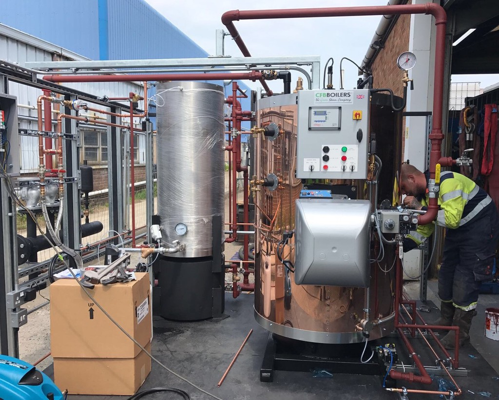 IPE - Boiler gets copper makeover