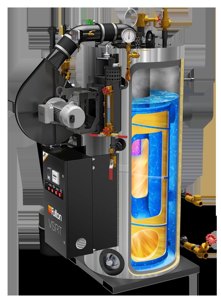 IPE - All-new gas-fired, vertical spiral-rib tubeless steam boiler