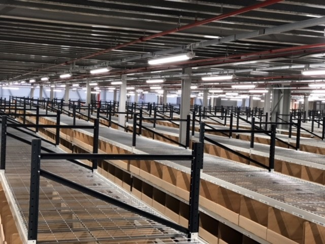 Hss Debenhams Selects Led Lighting For Warehouse