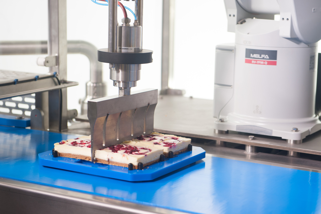 IPE - Industrial food cutting becomes a piece of cake