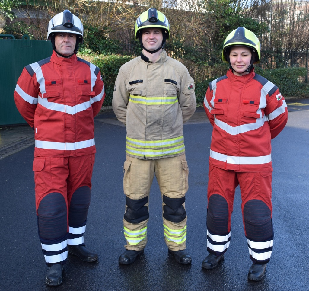FSM - Welsh firefighters issued new PPE